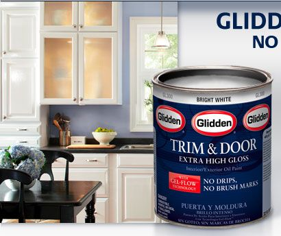 glidden trim door extra high gloss with gel flow technology there is a product - Best High Gloss Paint