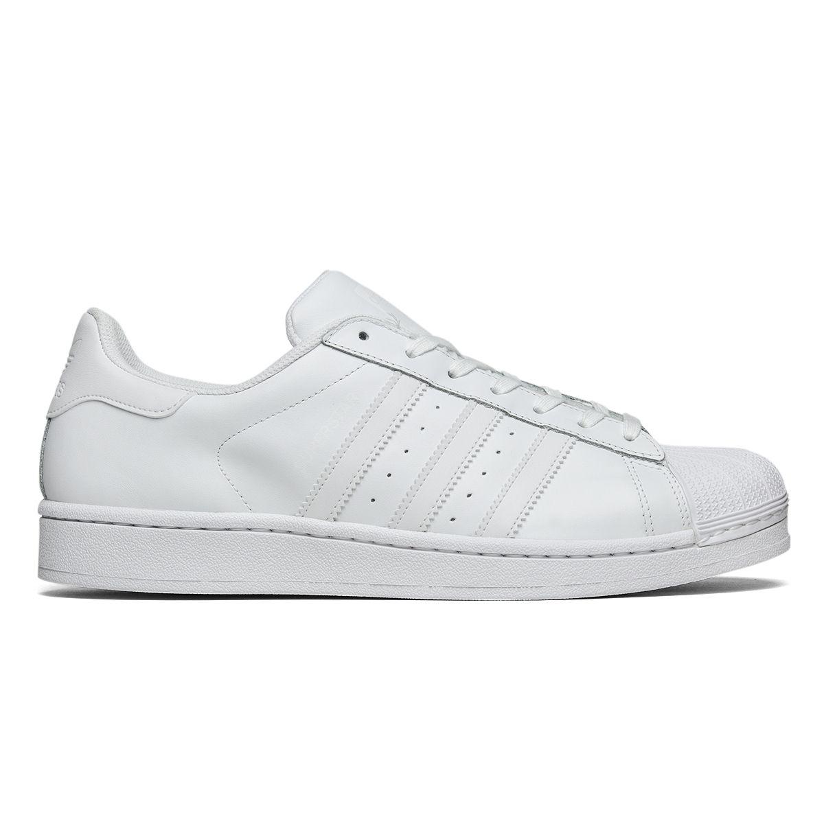Tênis Adidas Superstar Foundation Branco  7db2805dbe5