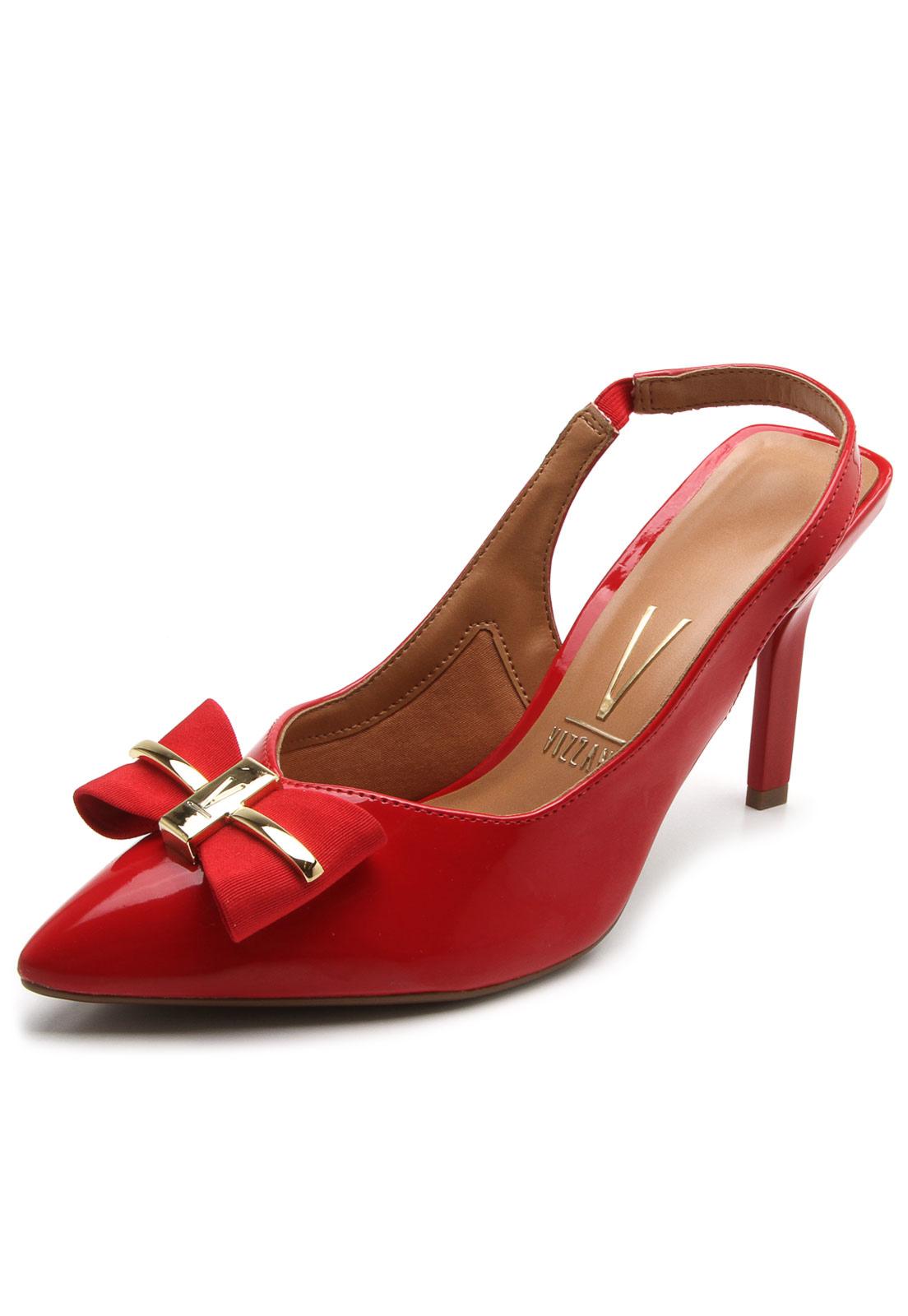 e2b819621 Scarpin Vizzano Laço Vermelho in 2019 | sapato e bolsas | Scarpin ...