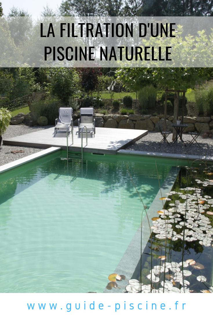 La Filtration D Une Piscine Naturelle Guide Piscine Fr Piscine Naturelle Piscine Baignade Naturelle