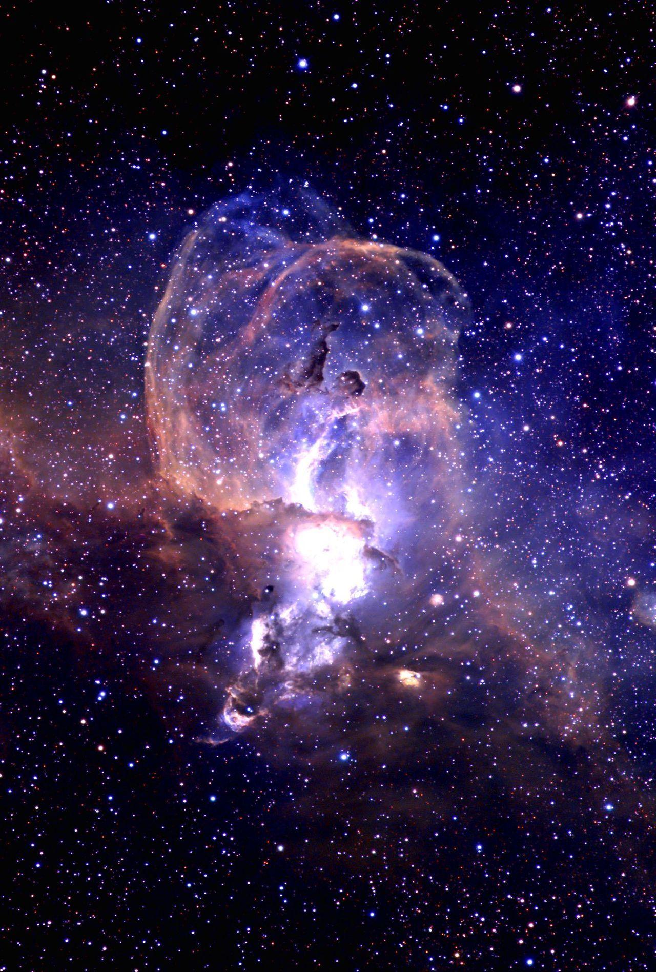 The Statue of Liberty Nebula: Liberty shines forward ...