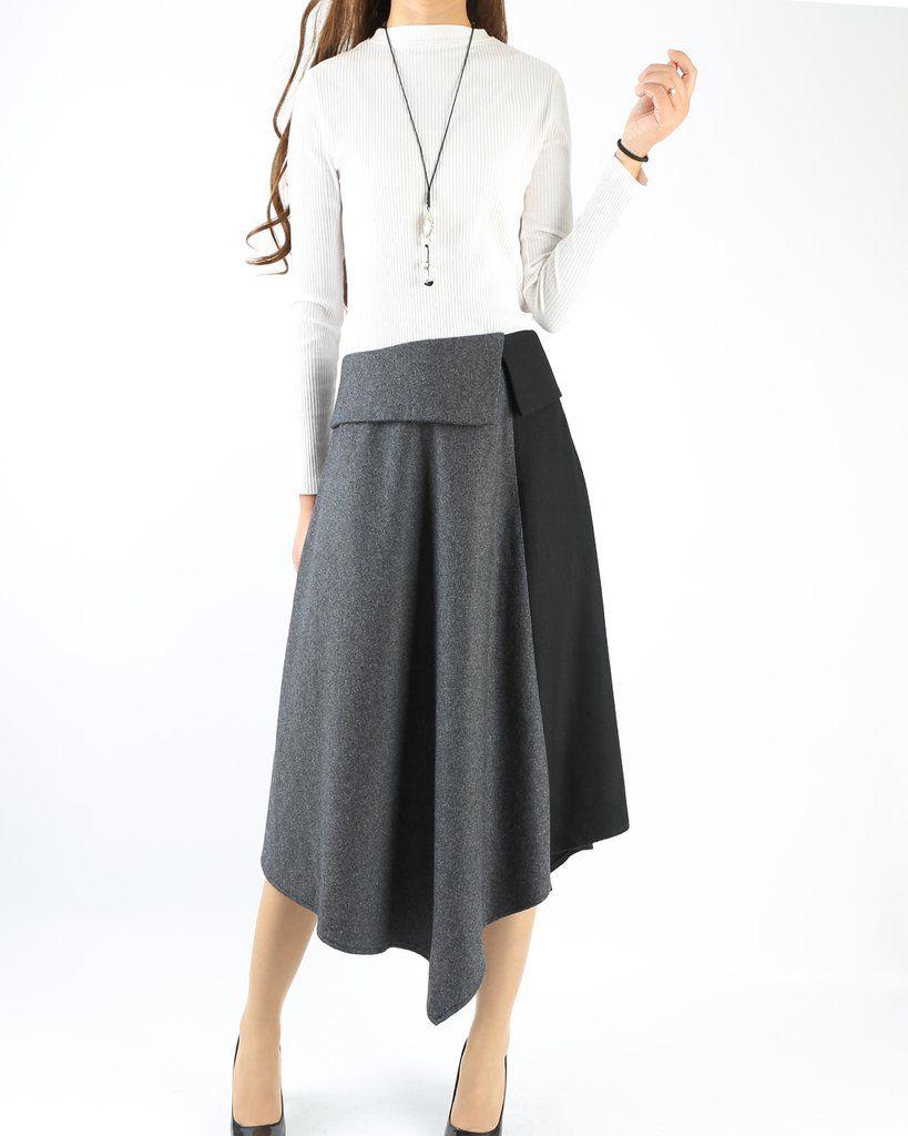 Q1009 Women/'s linen skirtmaxi skirtelastic waist peacock feather skirtplus size skirtoversize skirtcasual skirtblack skirt