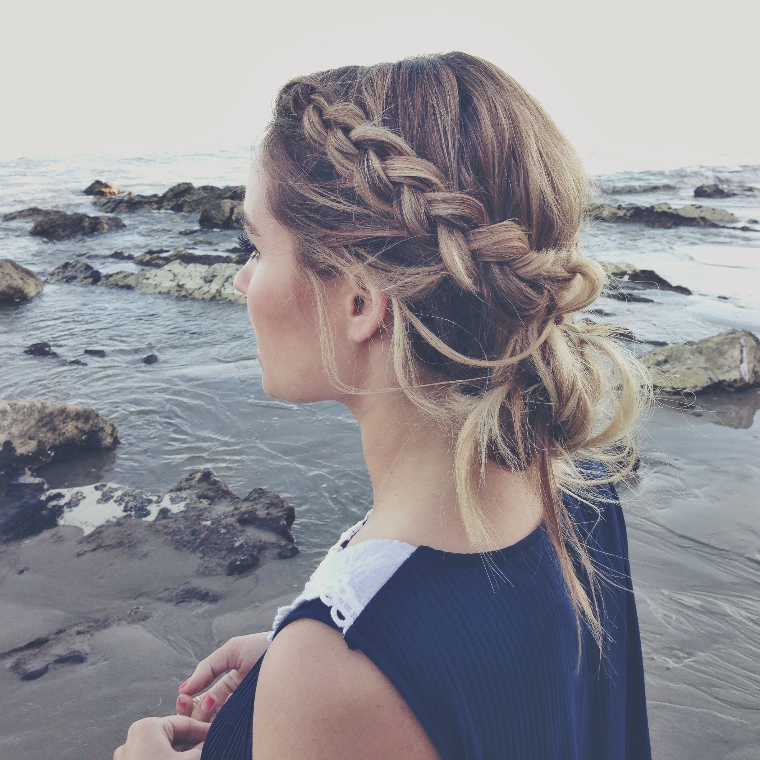 Beach braid hair pinterest beach braids kristin ess and beach