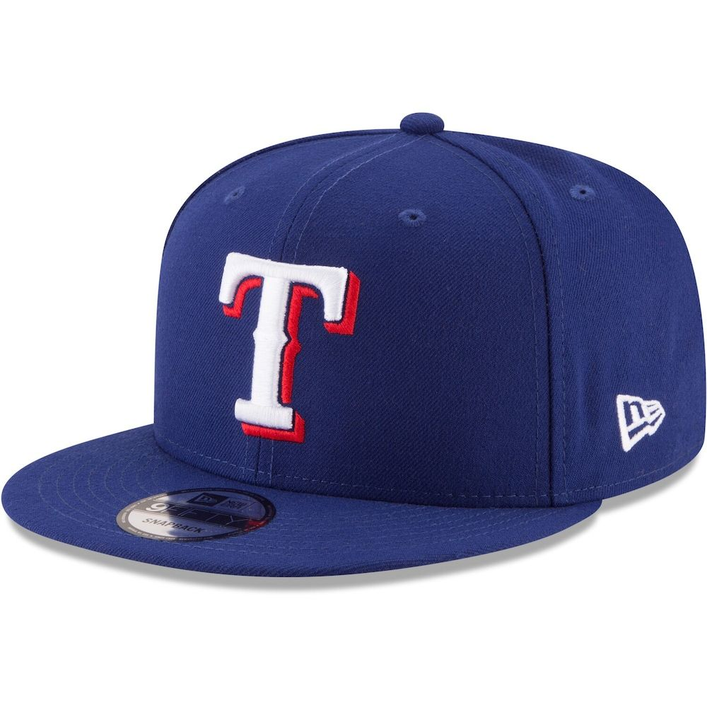 Men S New Era Royal Texas Rangers Team Color 9fifty Snapback Hat Texas Rangers Rangers Team Team Colors