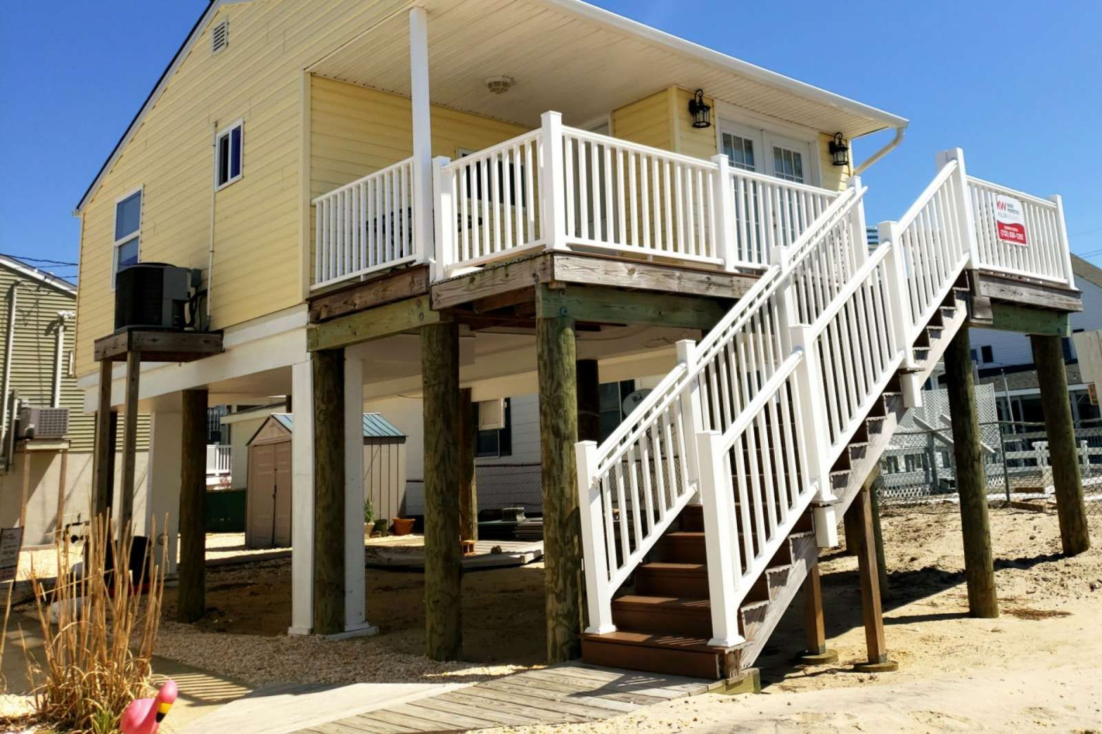 Seaside Heights Vacation Rental Bayfront cottage with