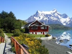 Lonely Planet Reviewed Parque Nacional Torres del Paine Hotels (Photo of Hosteria Pehoe)