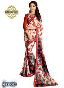Awesome Multi coloured Saree