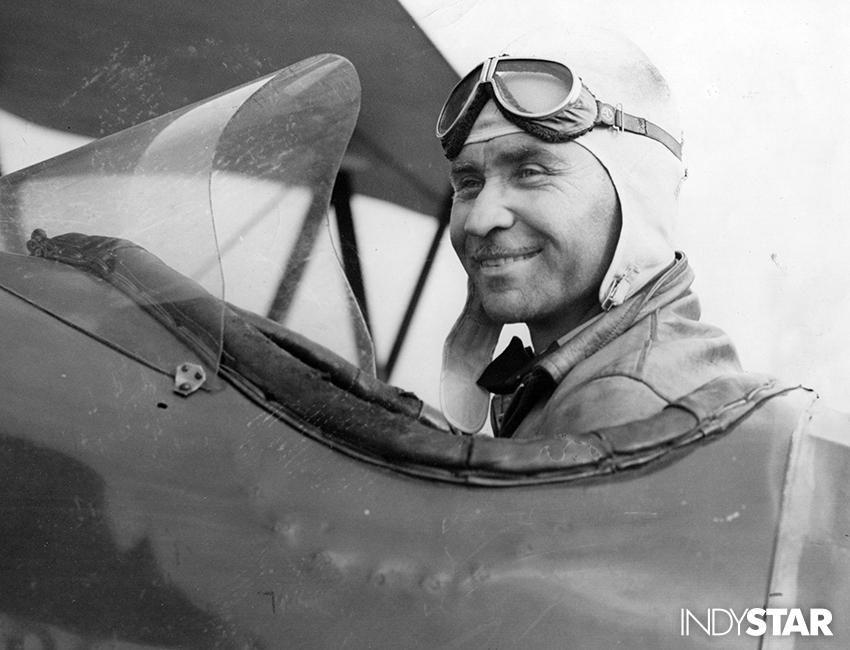 Robert Shank barnstormer, pioneer airmail pilot and