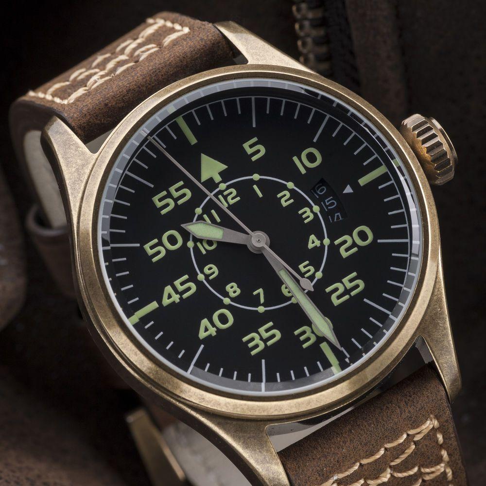 Geckota K1 Pilot Watch,