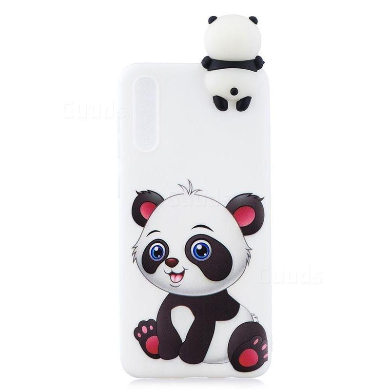 2019 的 Panda Girl Soft 3D Climbing Doll Soft Case for Samsung
