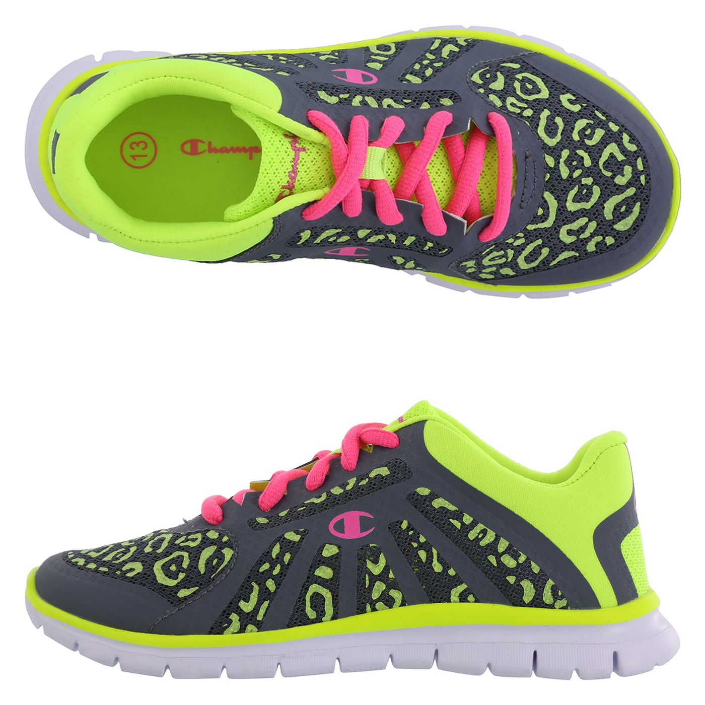 166391ffe My new shoes!! Girls Gusto Glow Runner