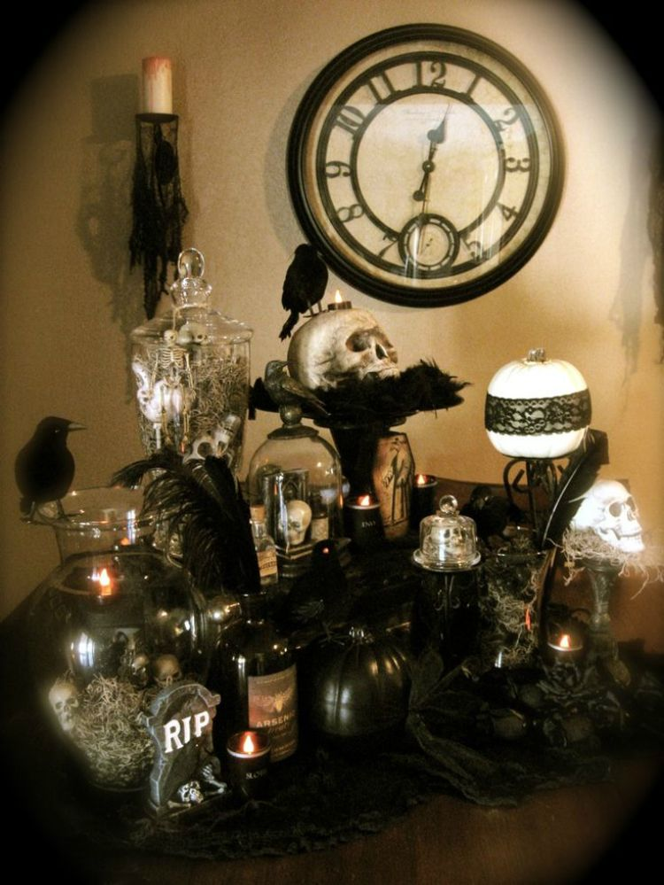 10 Enchanting Halloween Decoration Ideas Decoration, Inspiration - adult halloween party decor