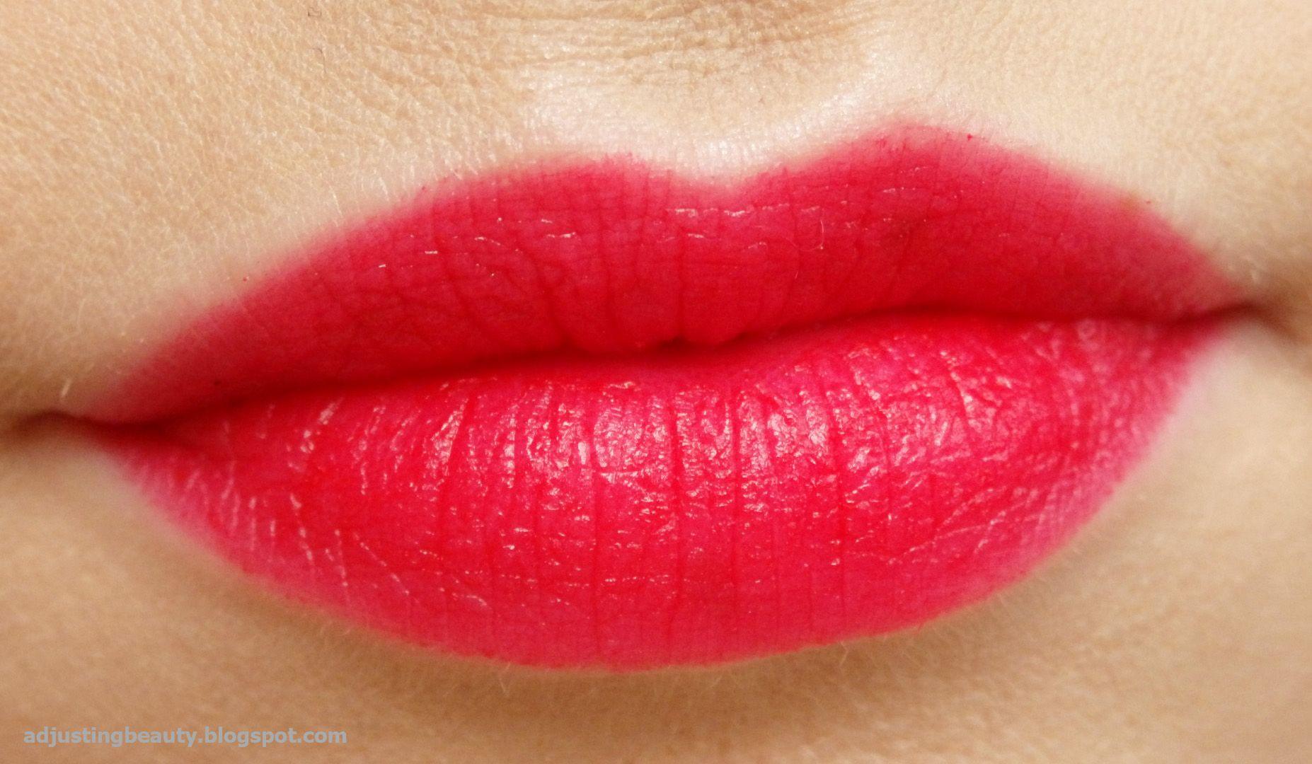 Review of Revolution Makeup London Lipstick in Dare
