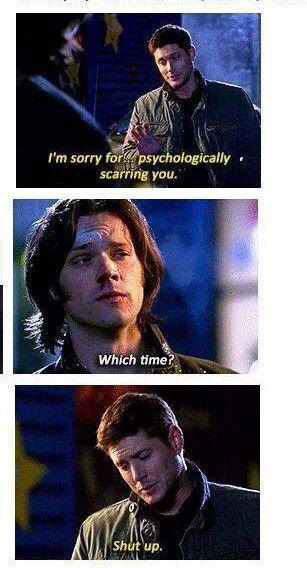 I fucking love Supernatural