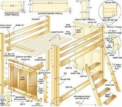 Free Loft Plans On Bunk Bed Plans Critical Info You Should Know