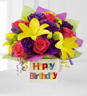 The FTDR Happy Birthday Bouquet 5499 Parkersflowers