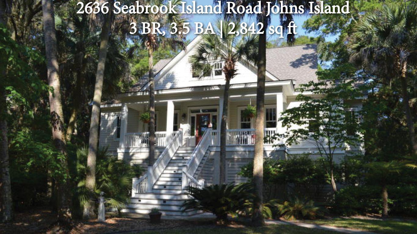 2636 Seabrook Island Road #charleston #southcarolina #dreamhome #househunting #dunesproperties