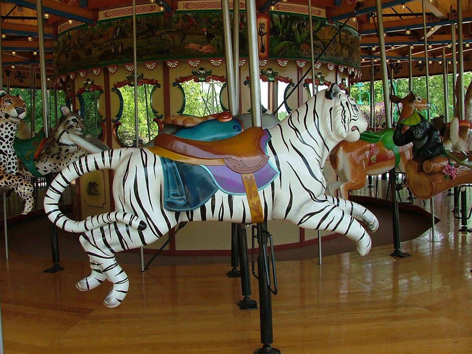 Carousel Animals | Nashville Zoo - Wild Animal Carousel