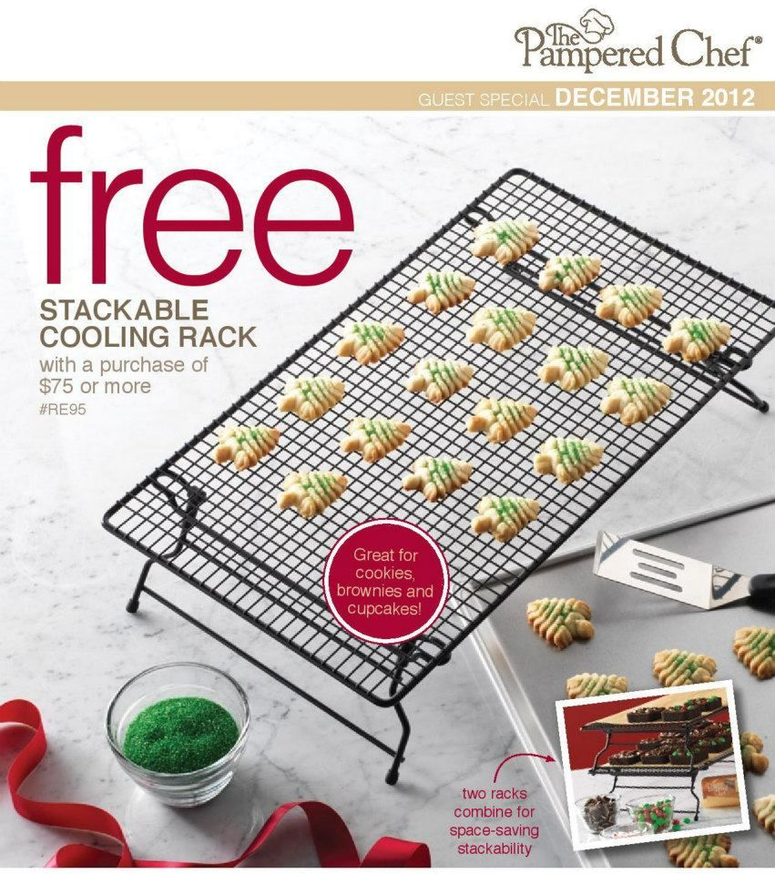 Free Cooling Rack When You Buy 75 Worth Of Pampered Chef Still
