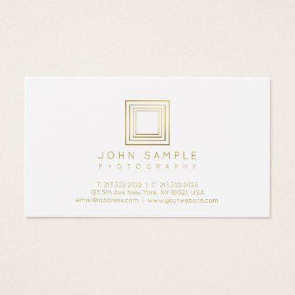 Photographer modern gold look photography stylish business card photographer modern gold look photography stylish business card reheart Image collections