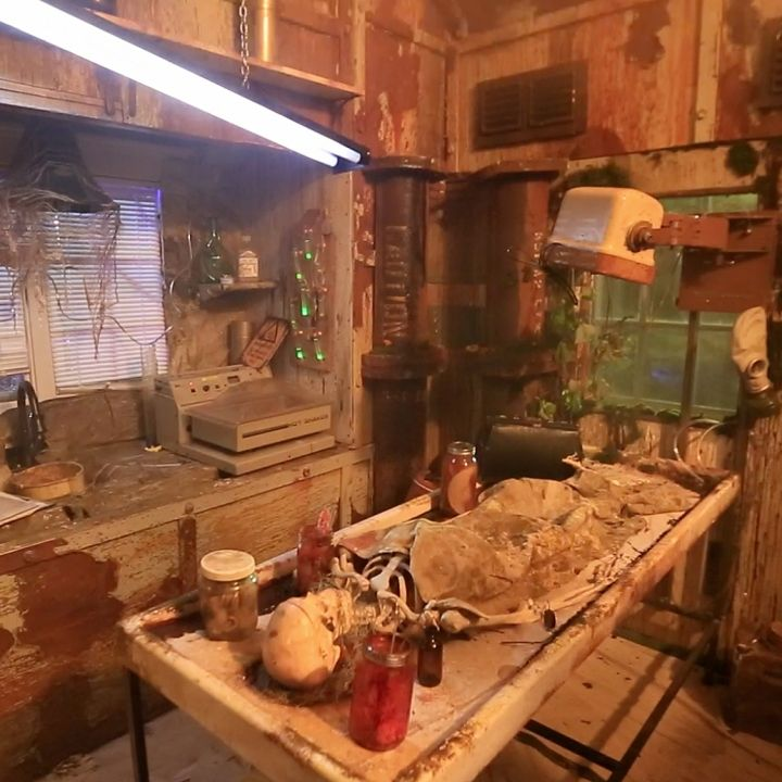 Tiny House Haunted House Interior Mad Scientist Lab