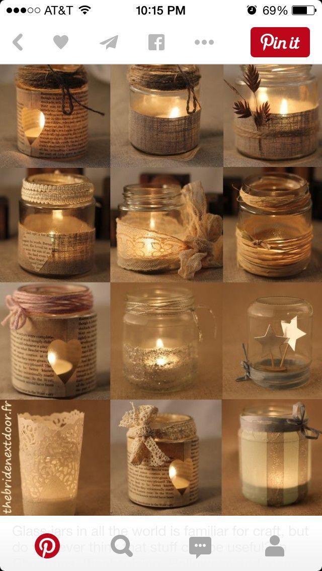 Love These For Tea Lights Mason Jar Christmas Crafts Mason Jar Diy Christmas Jars