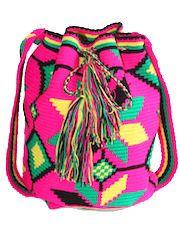 Wayuu Taya bags from Venezuela