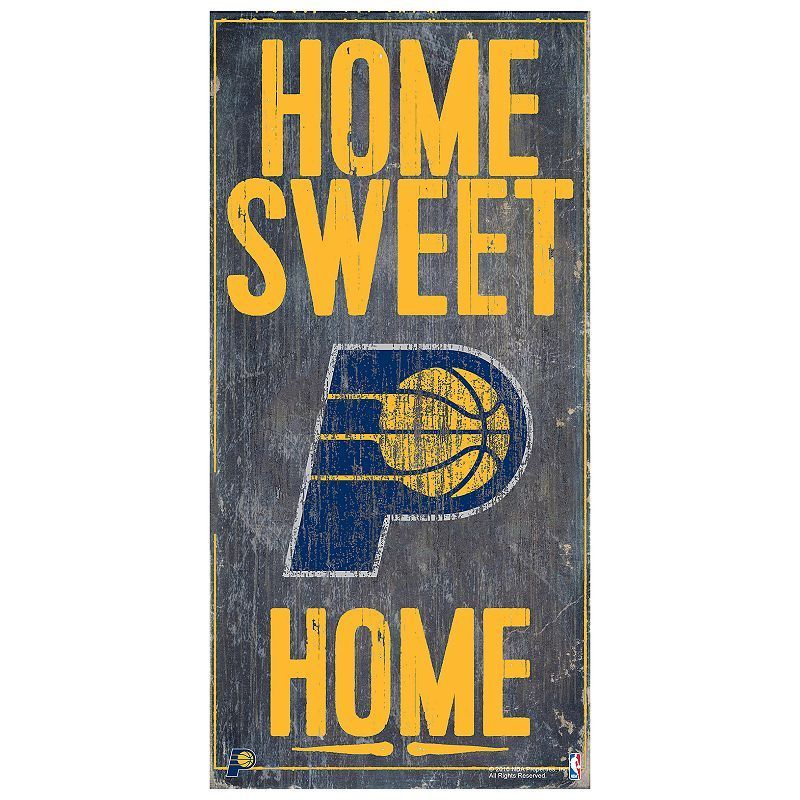 indiana pacers home sweet home wall art in 2020 home on wall street bets logo id=49406