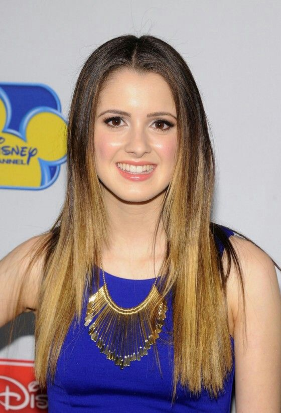 Laura Marano Disney Channel Austin And Ally Ombre Hair Color Ombre Hair Laura Marano