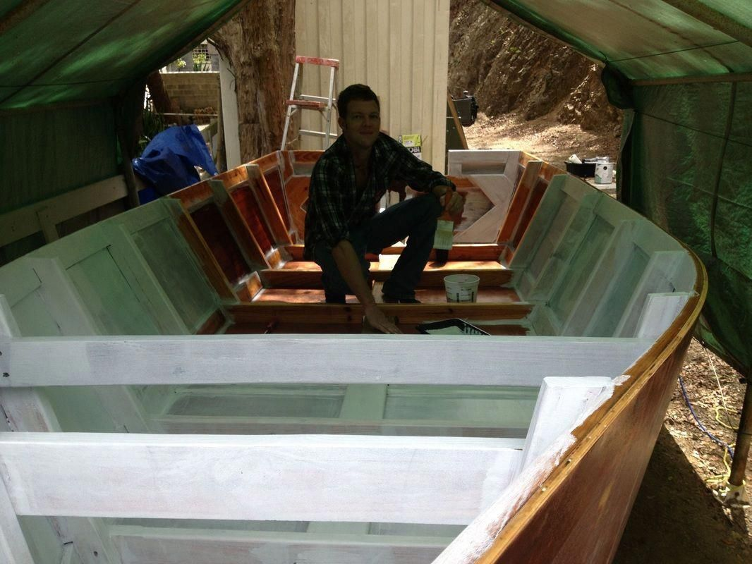 This site documents the boat building process that we followed to build our wood…