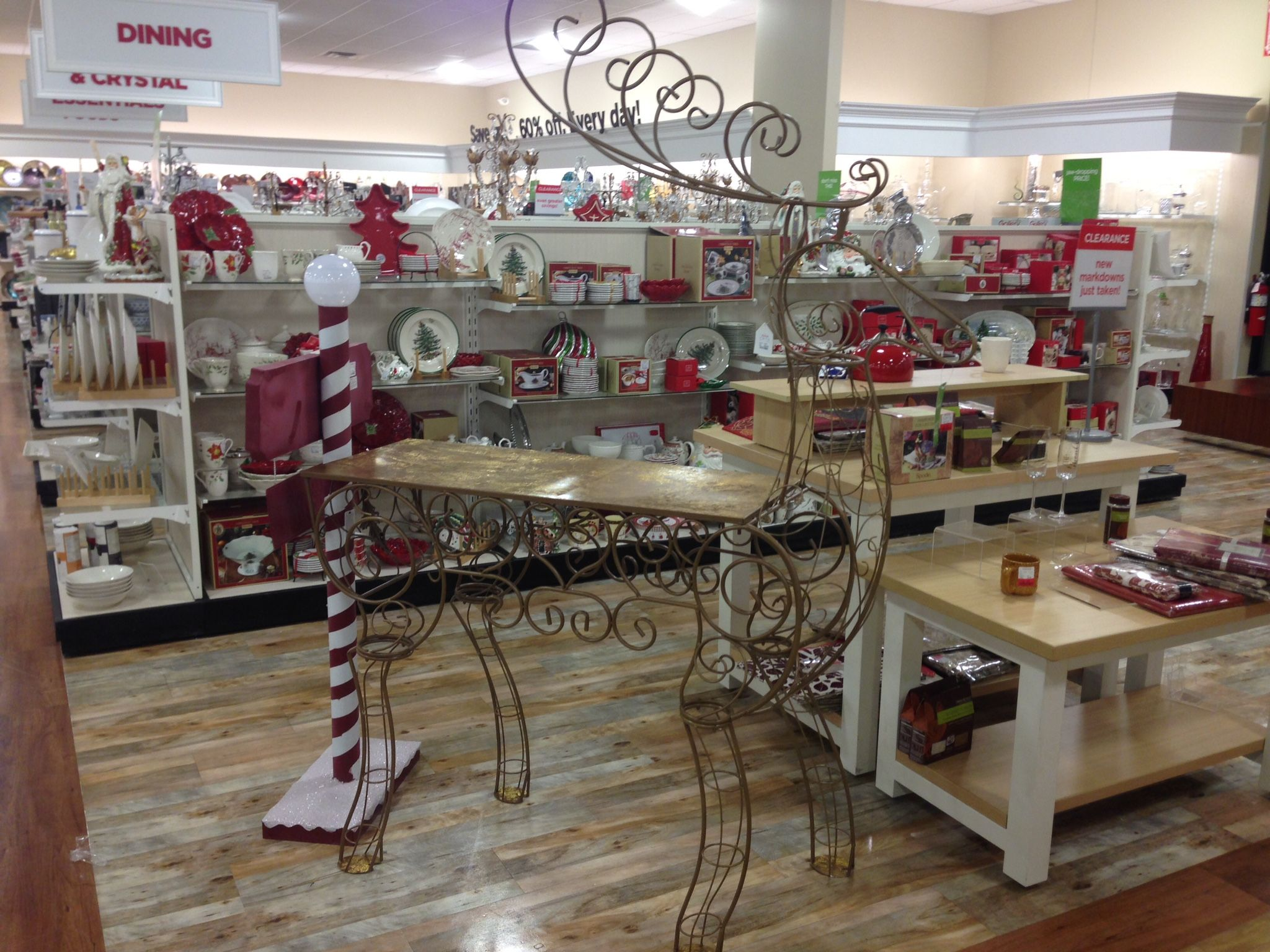 Reindeer Bar Spotted In The HomeGoods Store $199