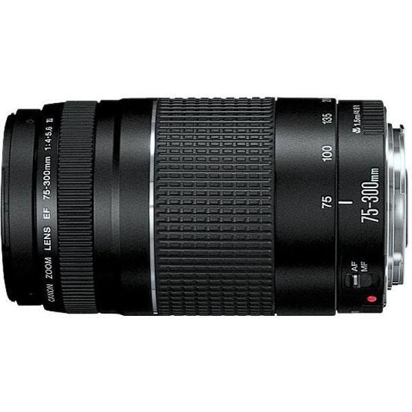 Canon 75 300 Lens Telephoto Zoom Lens Dslr Lenses Zoom Lens
