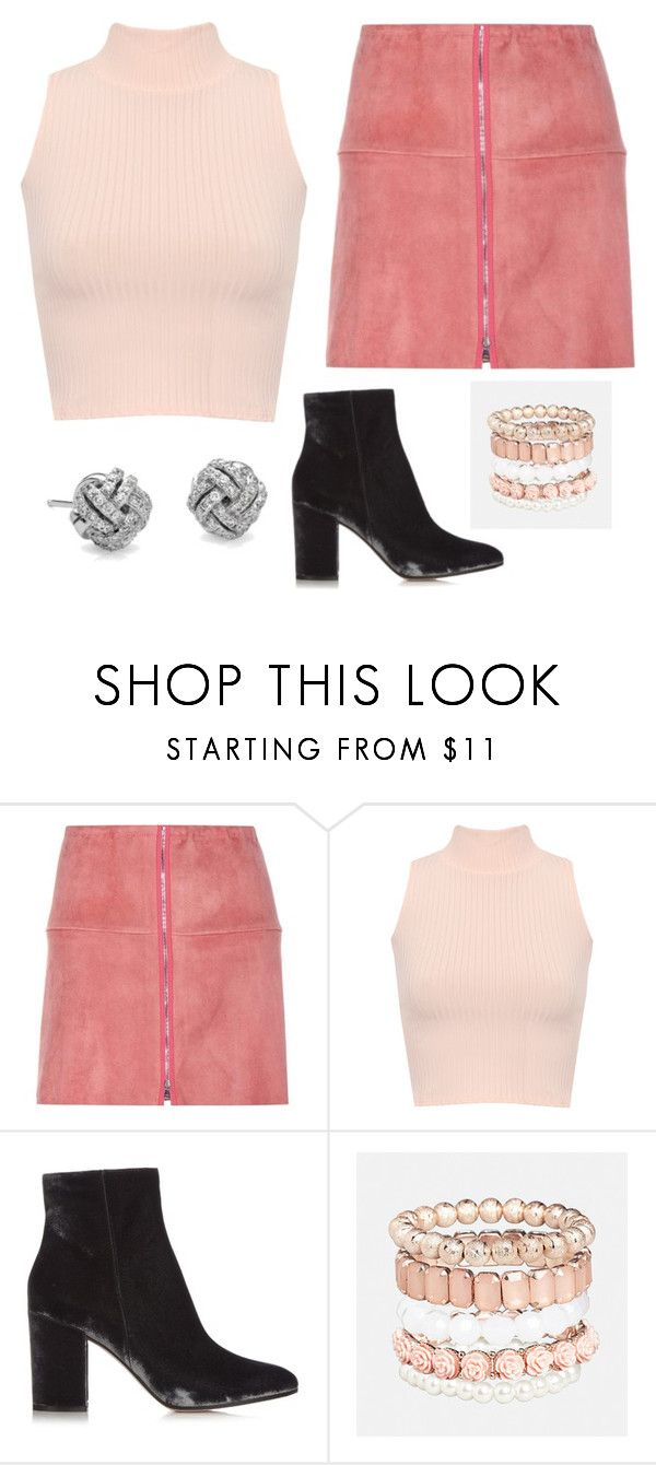 """Untitled #1465"" by shell26 ❤ liked on Polyvore featuring STOULS, WearAll, Gianvito Rossi, Avenue and Blue Nile"
