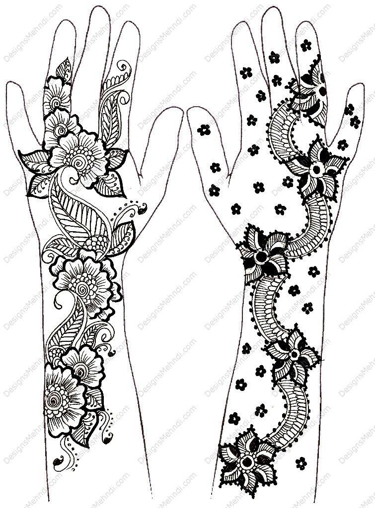 mehandi designs   idealistic politics: Simple Mehndi Designs For ...