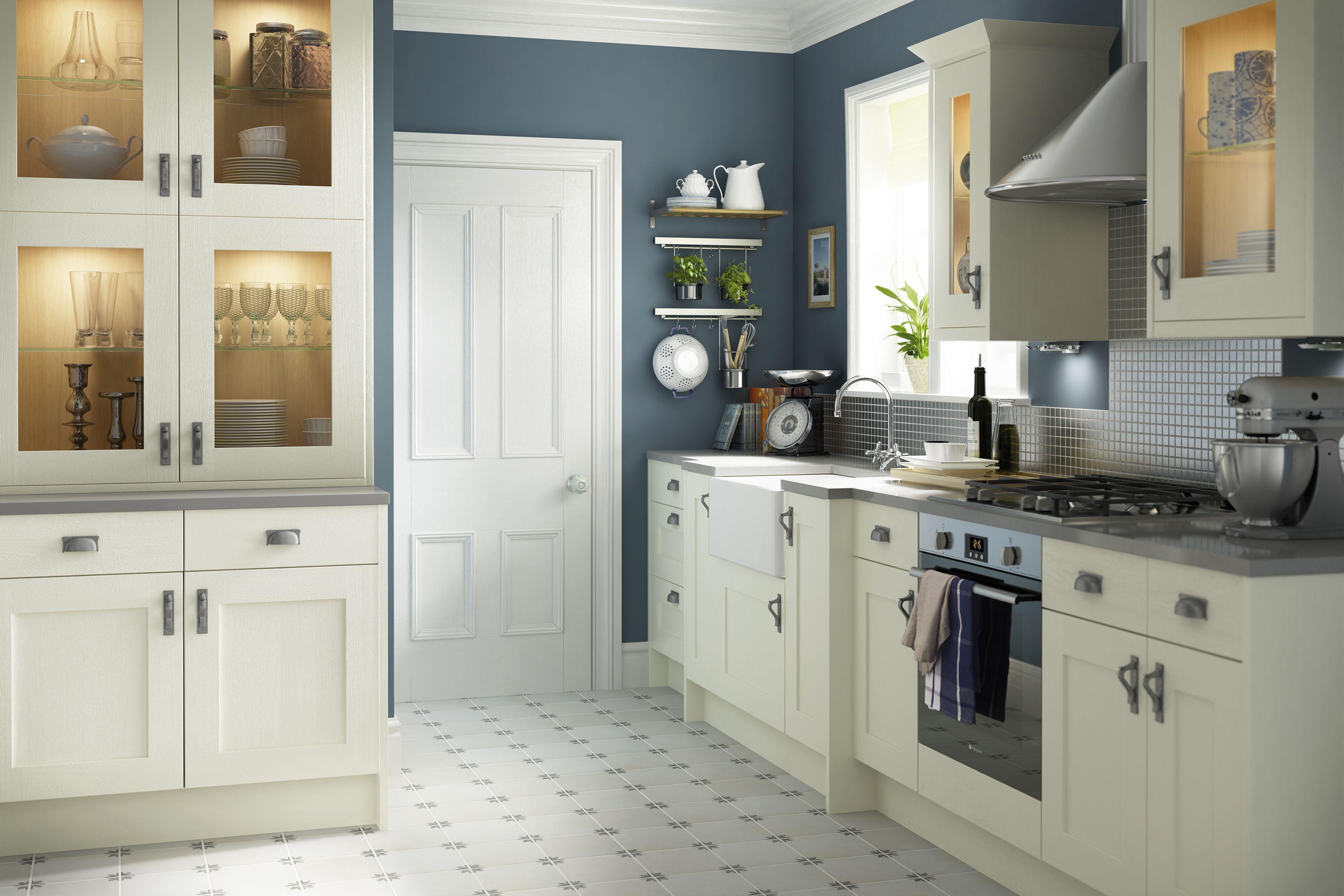White Kitchen Tiles B And Q