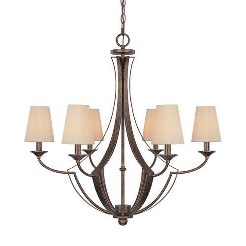Capital lighting c4336rt523 soho mid sized chandelier chandelier rustic at shop ferguson com