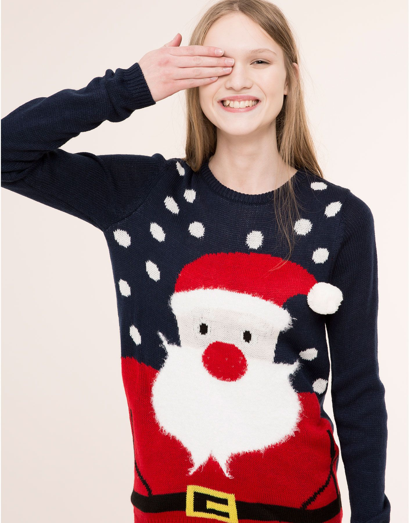pull and bear christmas jumper
