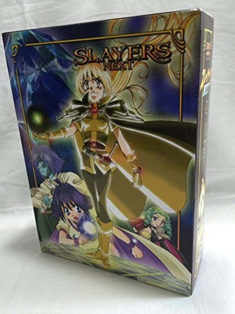Used SLAYERS NEXT 2nd TV Series DVD Box Set Anime Japan Official 869