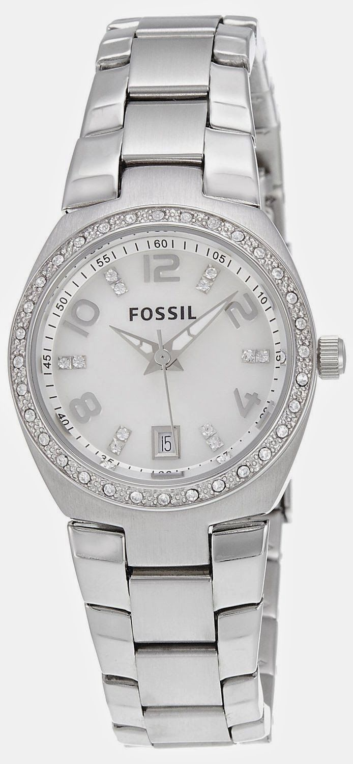 a6744b28fabb Fossil Dress Analog Silver Dial Women s Watch