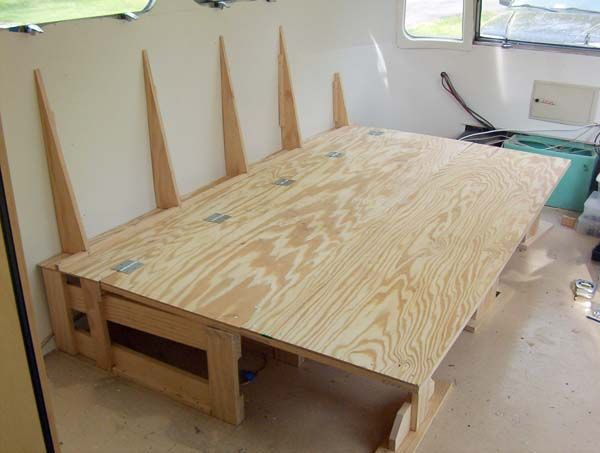 Couchbed And Entertainment Center Progress Airstream Forums I