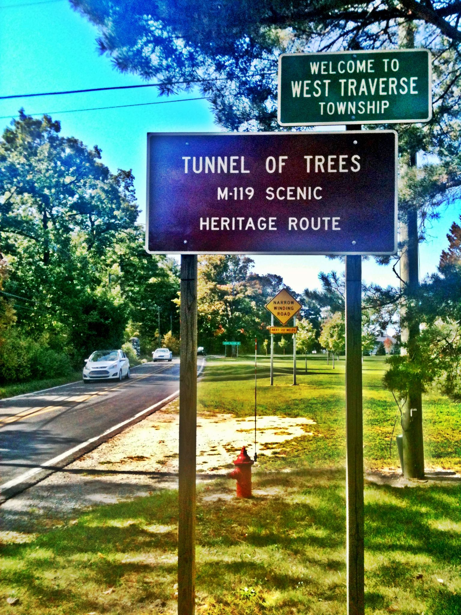 Entering the Tunnel just north of Harbor Springs. | Travel the ...