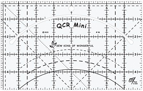 QCR Mini: Miniature Quick Curve Ruler