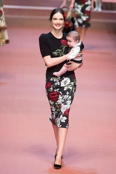 Happiest show: Dolce & Gabbana Babies giggling and mammas smiling, it's like the happiest place on earth — but eons chicer.