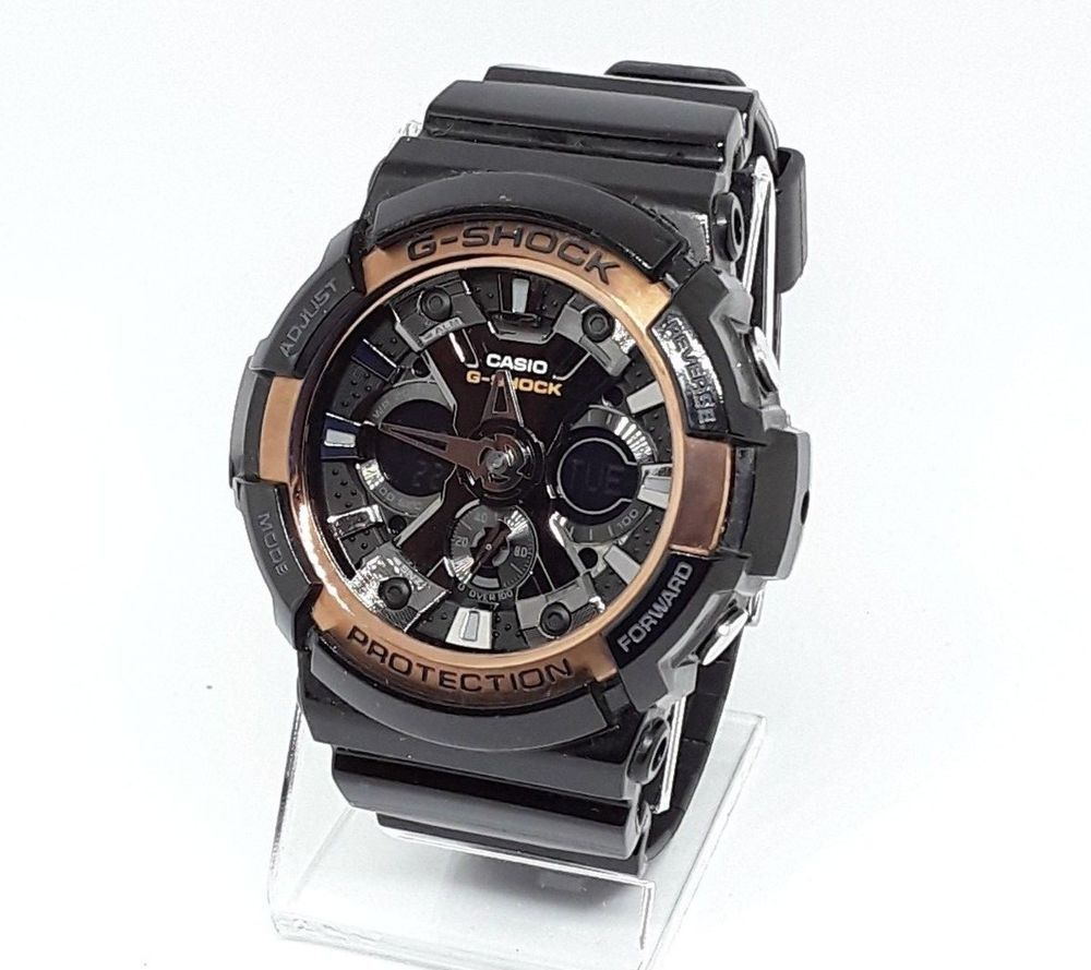 Details about casio gshock mens garg watch black case with