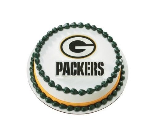 Nfl Green Bay Packers Layons Cake Decoration Topper Kit New 16734 Packers Cake Nfl Green Bay Green Bay Packers Cake
