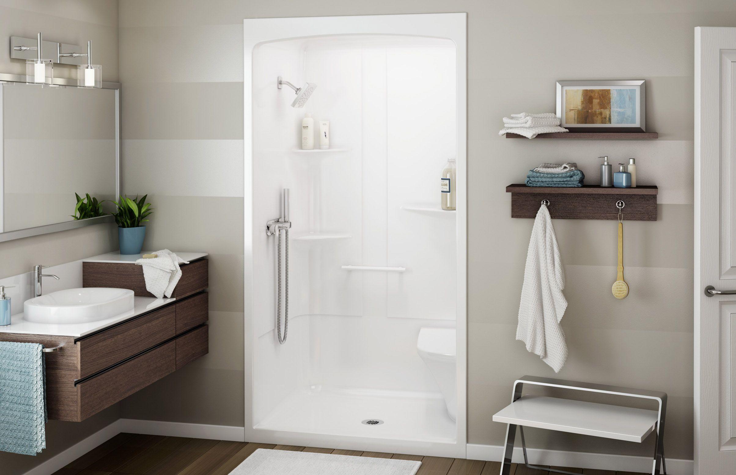 Allia Shr 4834 Alcove Showers Maax Professional One
