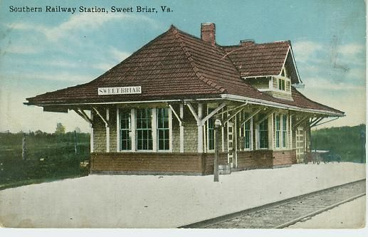 Historic Railroad Station Home