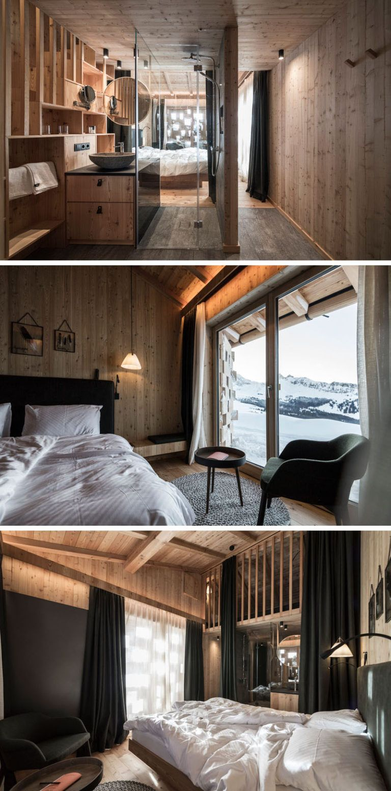 Small Hotel Room Design: Noa* (network Of Architecture) Have Given The Zallinger