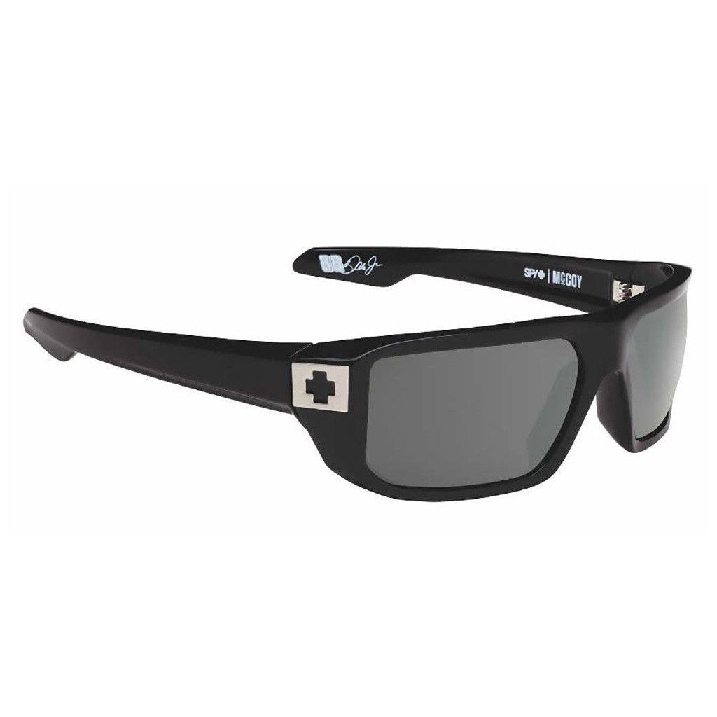 404c760fb647 Spy Sunglasses McCoy Black Happy Grey Green in 2019