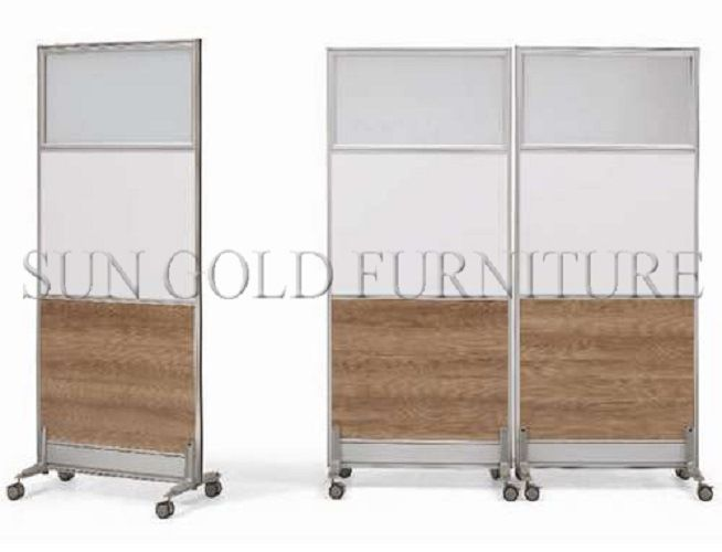 Modern Office Room Divider Removable Rolling Partition Wall (SZ WS584)